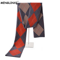 Newest 2018 Cashmere Plaid Scarf Man Winter Brand Scarf Men Fashion Design Shawl High quality Handsome Bussiness Casual Scarves