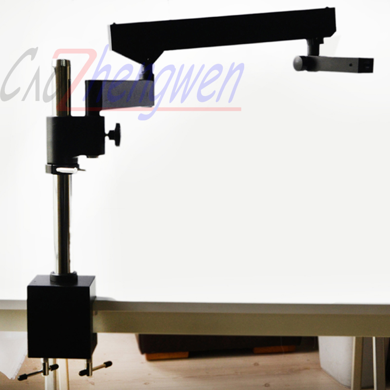 Fyscope шарнирной столп зажим подставка для стерео микроскопы