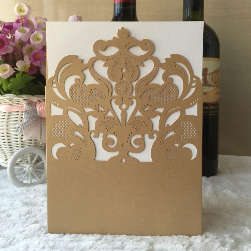 Vector Material Of Childlike Wedding Invitation Card