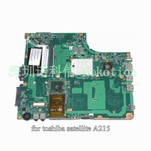 SPS V000108710 1310A2127111 For toshiba satellite A215 Laptop motherboard DDR2 AMD