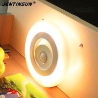 New LED Lamps Motion Light Sensor LED Night Light Energy Saving Light Control Automatic Wall Lamp