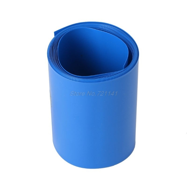 2M Lithium Battery Heat House Shrink Tube Li-ion Wrap Skin 14500 18650 26650 PVC Shrinkable Tubing Film Tape Sleeves Dropship 4