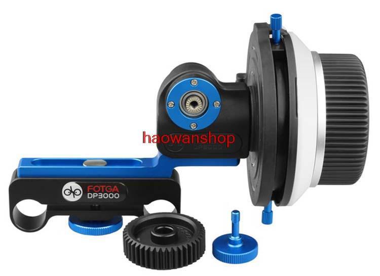 FOTGA DP3000 m2 w/ A/B Hard Stop Follow Focus Support 15mm Rod DV Film Video f DSLR maker fotga upgrade dp500iis a b hard stop qr dampen follow focus quick release 15 rod