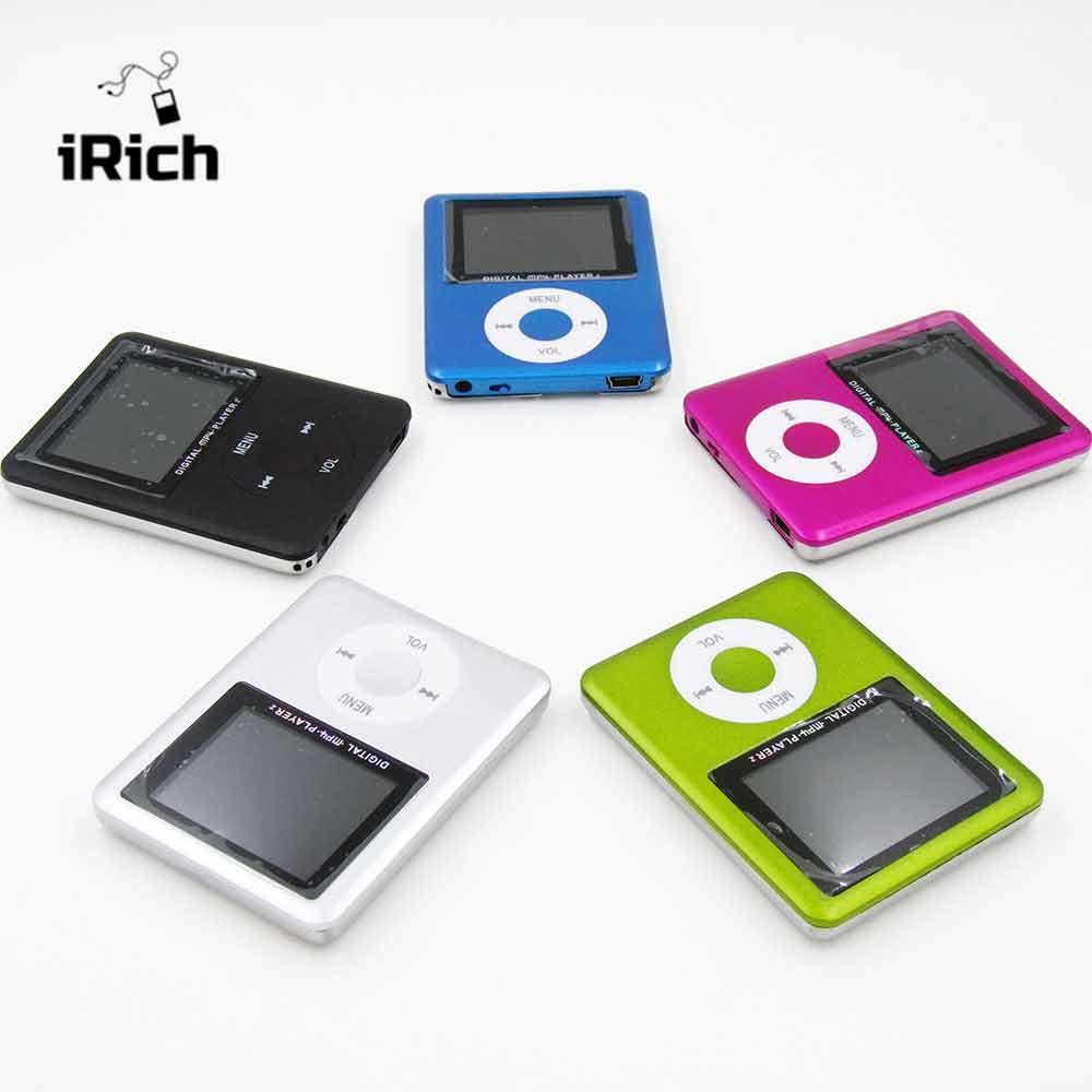 Style de mode Mince 1.8 LCD 3ème MP3 MP4 Lecteur mp3 player support jusqu'à 32 GB micro sd carte mémoire Vidéo Photo Viewer eBook lire