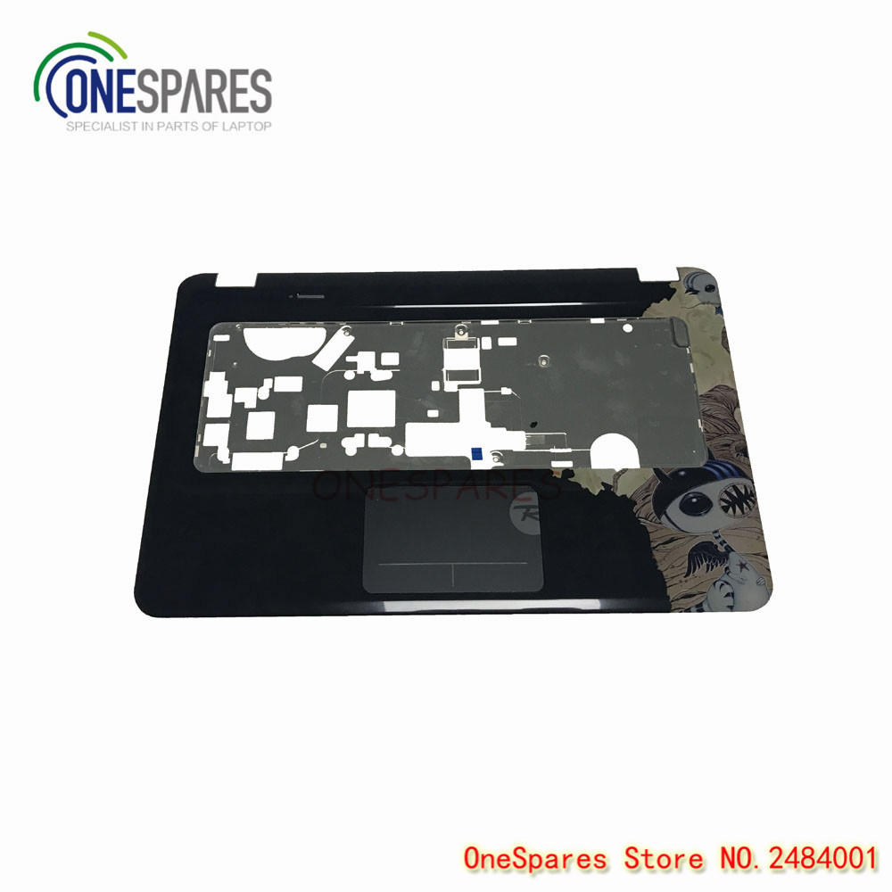 Shipping Original New cover For HP For Pavilion DV6 DV6-3000 Series Palmrest & Touchpad & Fingerprint Reader C Shell EALX600902 new ru for lenovo u330p u330 russian laptop keyboard with case palmrest touchpad black