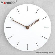 Livingroom Wall Clock Sticker Diy Wooden Luxury Art Modern Design Chic Home Office Cafe Watch