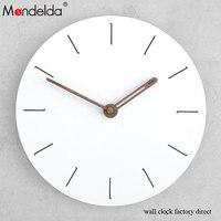 Livingroom Wall Clock Sticker Diy Wooden Luxury Art Wall Clock Modern Design Chic Home Office Cafe Wall Watch