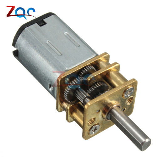 DC 12V 300RPM Gear Motor Electric Speed Reduction Shaft Diameter Reduction Gear Motor Full Metal Gearbox for RC Robot Model DIY cnbtr low speed electric geared motors dc12v 2 5rpm metal gearbox motor