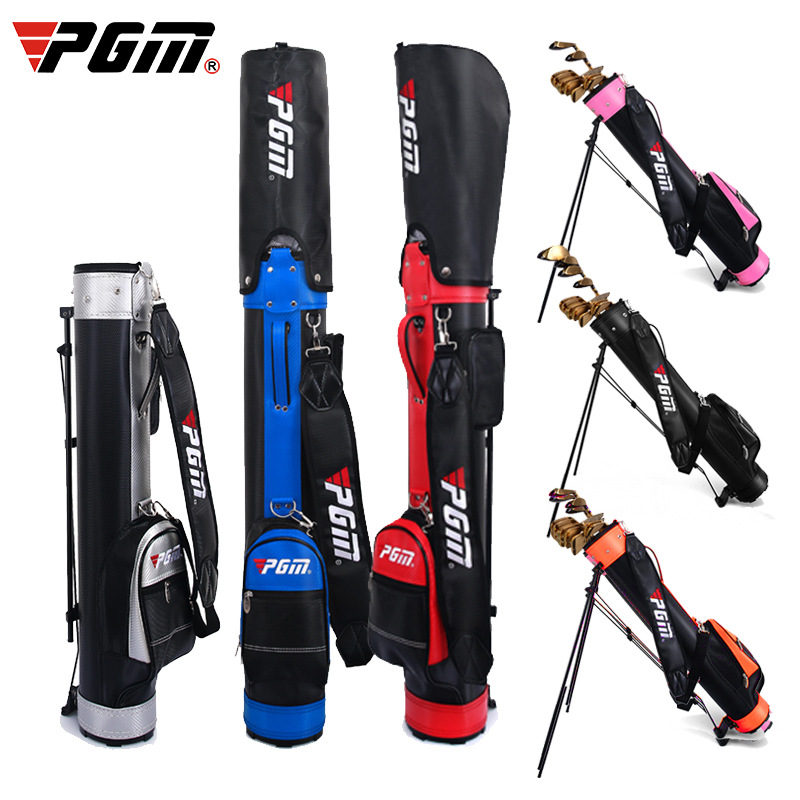 PGM New Golf Bag with Stand Brand Gun Bag Unisex Large Capacity Can Hold 9 Clubs Ultra Light Portable Color Variety High QualityPGM New Golf Bag with Stand Brand Gun Bag Unisex Large Capacity Can Hold 9 Clubs Ultra Light Portable Color Variety High Quality
