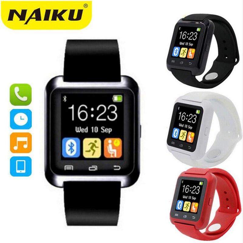 Smartwatch Bluetooth Smart Watch U8 WristWatch digital sport watches for IOS Android Samsung phone Wearable Electronic Device Переносные часы