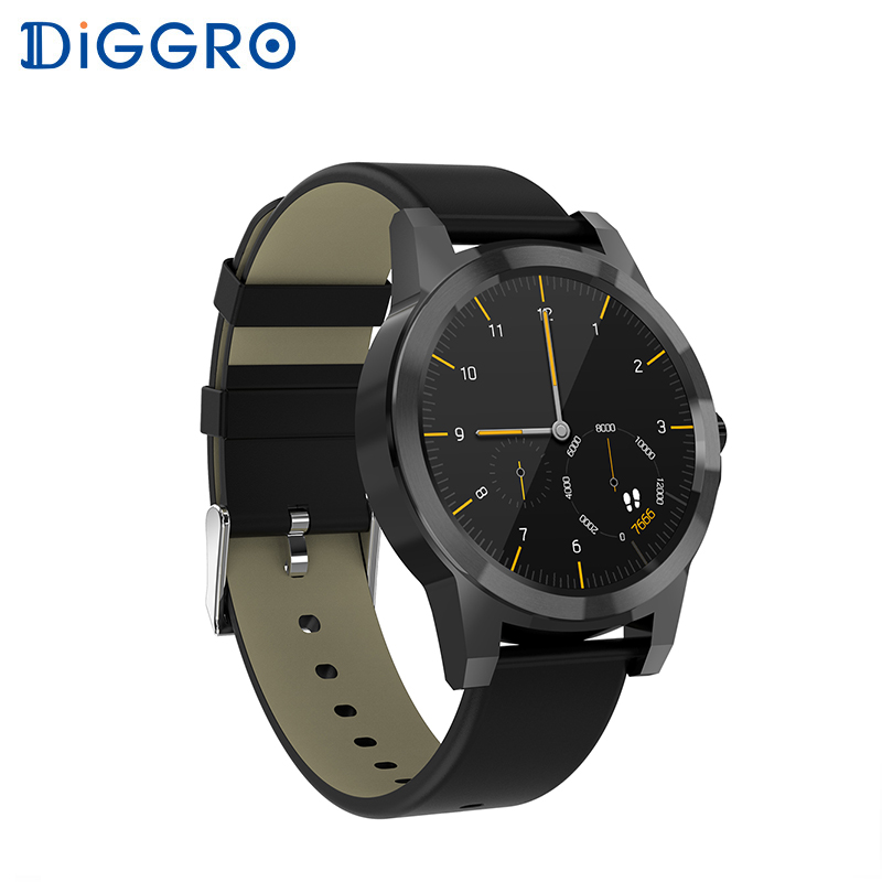 Diggro DI03 Plus Bluetooth Smart watch Waterproof Heart Rate Monitor Pedometer Sleep Monitor for Android & IOS plus heart