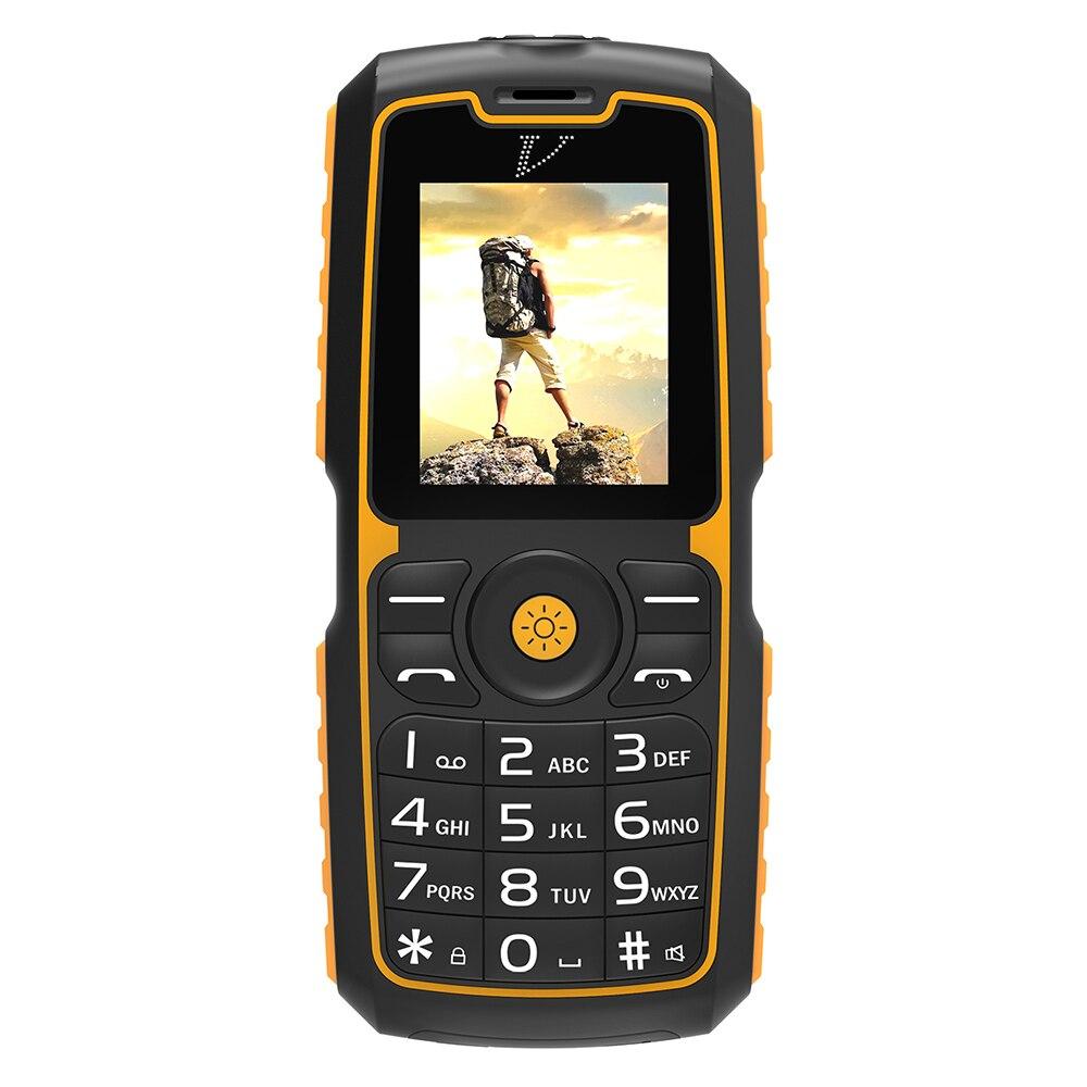DTNO.1 A11 1.77'' IP67 Quad Band Unlocked 2G Mobile Phone Dual SIM Waterproof Dustproof Flashlight Cellphone Power Bank Function