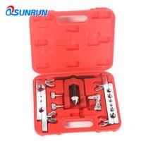 QSUNRUN CT99 Metric inch Copper Pipe Tube Expander 5 19mm Air Conditioner Fridge Installation Repair Tools Kits with Case Box