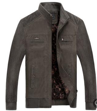 Giacca da uomo nuovo di alto livello del collare del basamento giacca corta in cotone di autunno degli uomini di inverno giacca D151