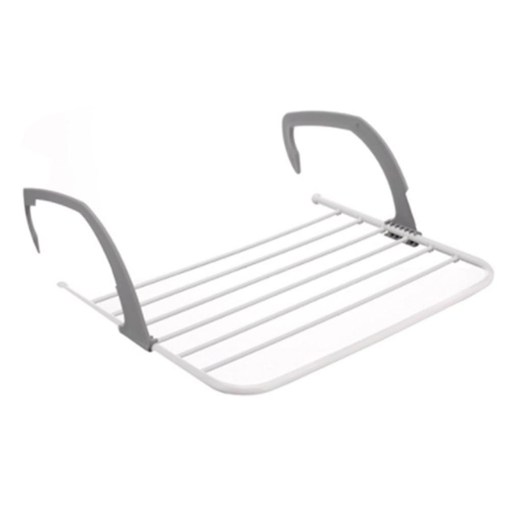 Multifunctional Foldable Design Household Indoor Outdoor Balcony Telescopic Shelf Drying Racks Clothes Shose Hanger