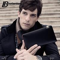 BOSTANTEN Luxury Wallet Male Genuine Leather Purse Men Fashion Long Money Clutch With Card Holder Pocket
