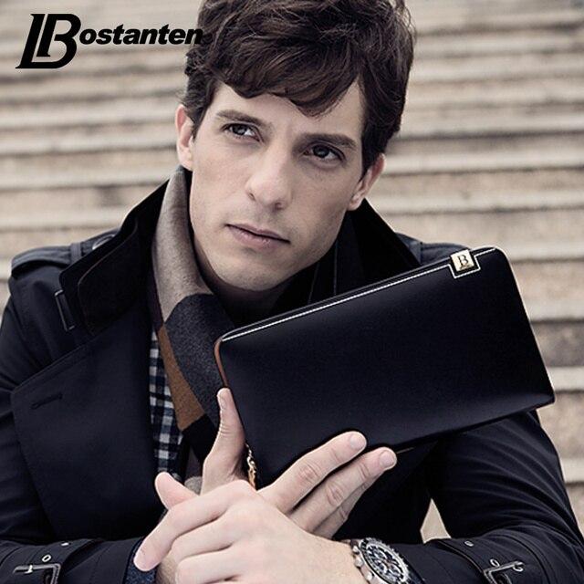 Bostanten Роскошный кошелек мужской Разделение кожаный кошелек Для мужчин модные длинные деньги сцепления с держателем карты кармане доллар цена портфеля