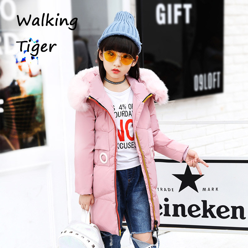 Children winter Down jacket girls clothes coat tops Keep warm girl clothing 2017 new thickening Outerwear Parkas children winter coats jacket baby boys warm outerwear thickening outdoors kids snow proof coat parkas cotton padded clothes