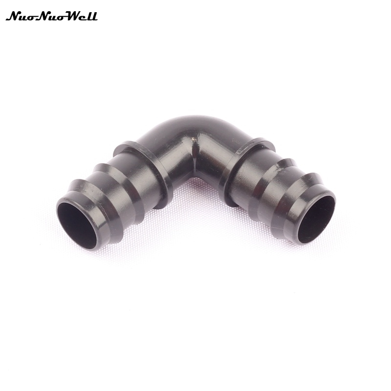 5pcs nuonuowell 25mm pe barbed equal elbow connector pipe. Black Bedroom Furniture Sets. Home Design Ideas