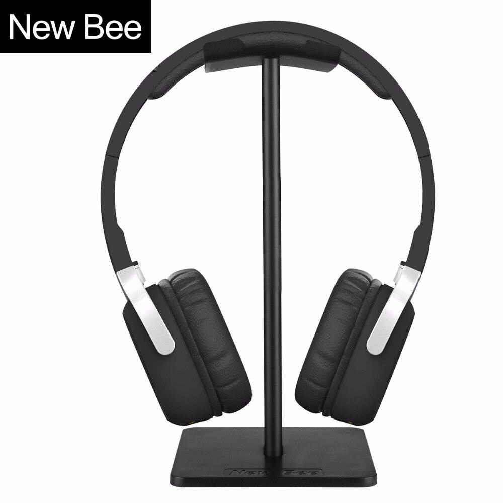New Bee Classic Headphone Headset Earphone Stand Holder Hanger Headphone Stand Holder Fashion Display for Headphones bracket