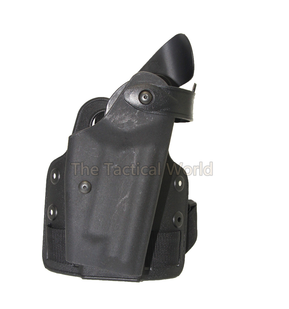 Militar de Combate de Airsoft Caza Disparos Tactical Holster Leg Drop Pistolera