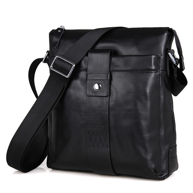 Genuine Leather Men Shoulder Bag Handbag Vintage Cowhide Crossbody Bag Tote 100% Real Leather Business Men Messenger Bag men oil wax genuine leather cowhide handbag single shoulder messenger crossbody bag real cowhide purse famous male tote handbags
