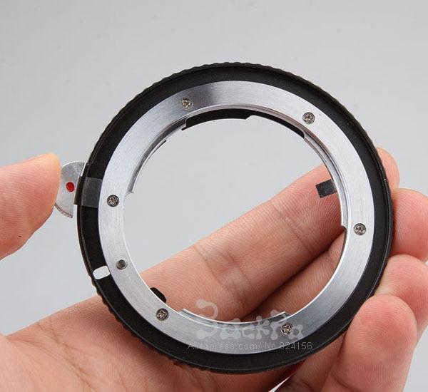 2017 nueva cámara Adaptadores para objetivos para Nikon G lente a para Canon EOS Cámara Cuerpo Accesorios 70d 80d 760d 800d 1200d