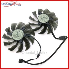 T129215SU 12V 0.50A 86mm 4Pin VGA Fan For Gigabyte GTX1060WF2OC N1050OC-2GD GTX1050TI 4G GTX1060 Graphics Card Cooling Fan цена и фото