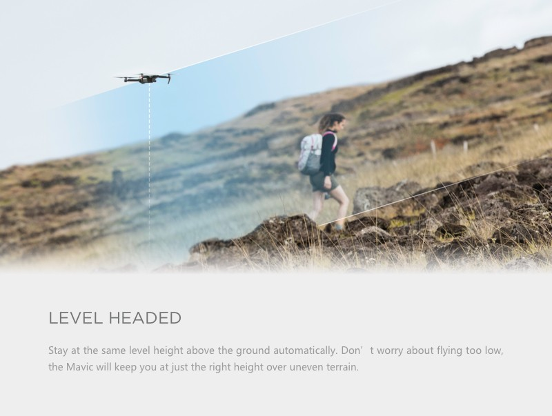 Pre-order! DJI Mavic Pro Drone With 4K HD Camera RC Built in OcuSync Live View GPS and GLONASS System, ActiveTrack, Level Headed