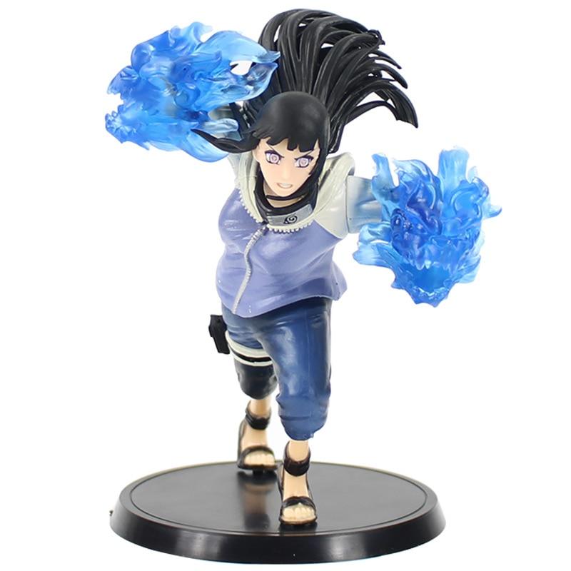 16.5 Cm Naruto Shippuden Hyuuga Hinata Twin Leeuwen Vuist Battle Ver. Pvc Figuur Speelgoed Pop Collectible Model Acgn Beeldje