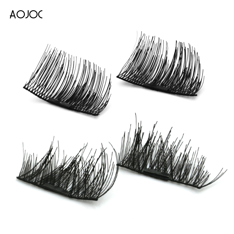 Magnetic Eyelashes False Eyelashes on magnets Reusable Magnetic Extension Fake Eye Lashes Soft Easy To Wear Gift cilios natural