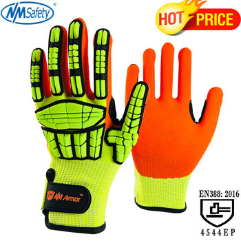 NMSafety 100% High Quality Anti Vibration New Mechanic gloves Cut-Resistant Safety Hand Work Gloves - discount item  30% OFF Workplace Safety Supplies