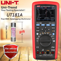UNI T UT181A True RMS данных регистрационный мультиметр USB/Bluetooth передачи данных/измерения температуры