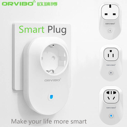 2016 New Orvibo Home Automation EU/U/UK/AU Standard Smart Power Travel Socket Plug 4G/WiFi Remote Control Switch for Smartphones