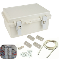 1pc Waterproof Electronic Junction Box Enclosure Case Outdoor Terminal Cable Mayitr ABS Plastic Junction Boxes 240