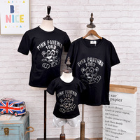 In Stock Family Look Clothing New Summer Short Sleeved Activities Customized Matching Mother Father Baby Family