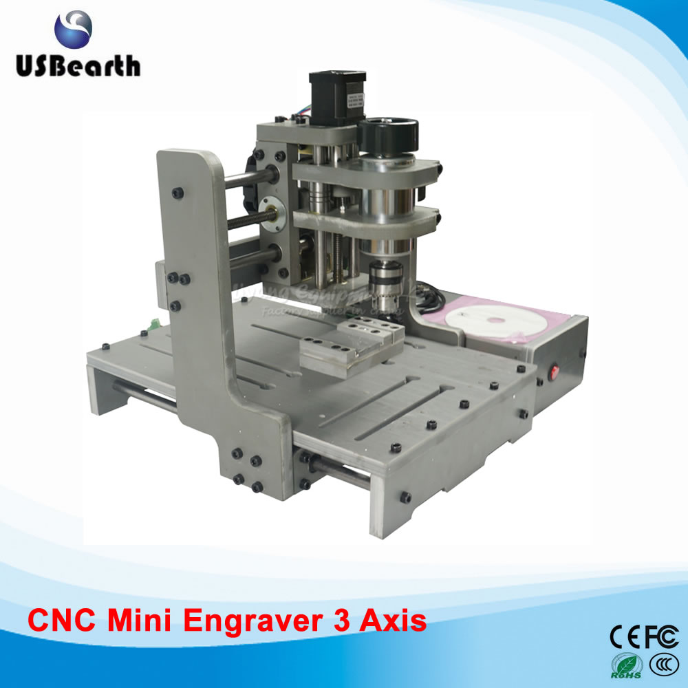Desktop 3 axis cnc milling machine DIY cnc engraver PCB milling lathe to Russia , free tax cnc 5axis a aixs rotary axis t chuck type for cnc router cnc milling machine best quality