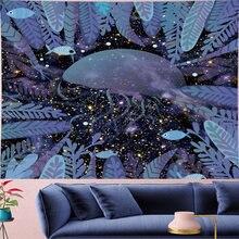 Милый настенный гобелен с изображением Медузы из мультфильма