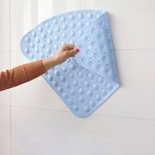 Nice Sector Rubber Corner Shower Mat Anti Slip Quadrant Bath Mat Anti Bacterial  Suction For
