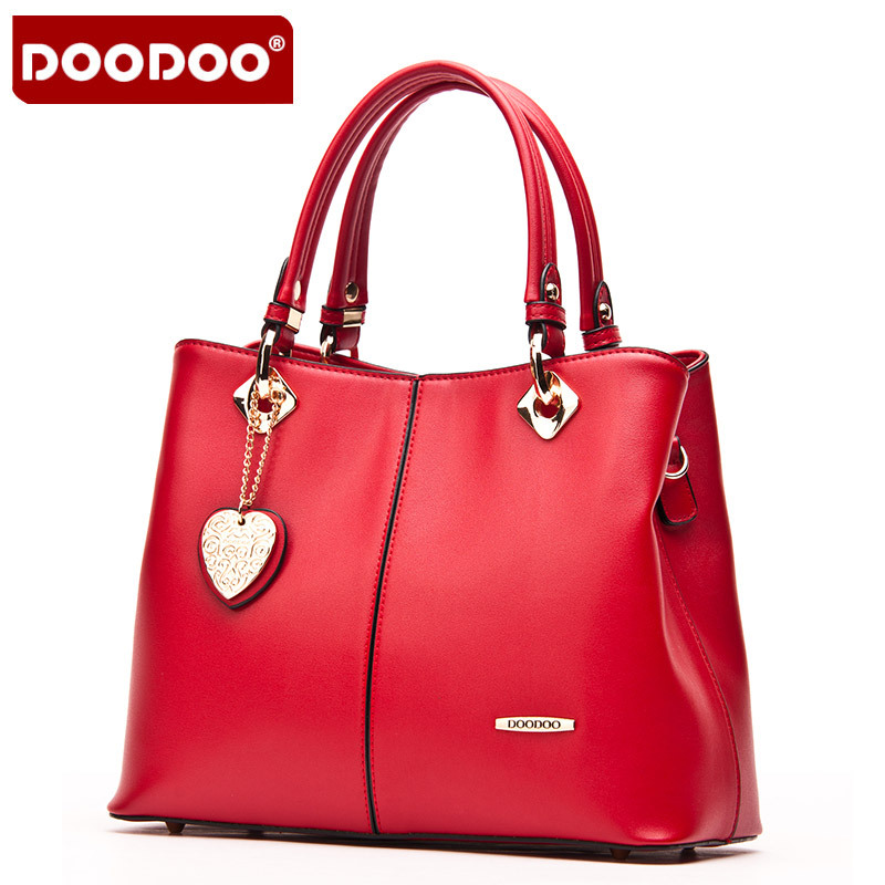 DOODOO Lady Real Leather Handtassen Vintage luxe handtassen vrouwen - Handtassen - Foto 3