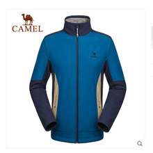 CAMEL Camel men's outdoor softshell 2015 autumn and winter cardigan men's warm windbreak jackets A5W2T7130