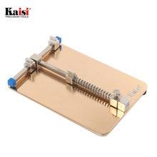 Kaisi Fixture Plantilla de Metal Universal de Soporte de la Placa PCB Estación de Trabajo para el Teléfono Móvil iphone PDA MP3 Repair Tool