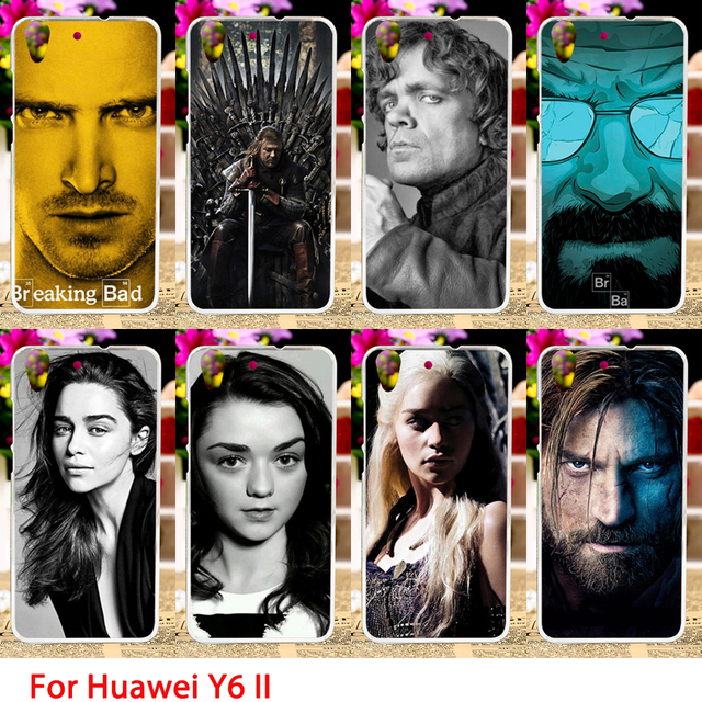 Game Of Thrones Character Print Soft Cover Case For Huawei