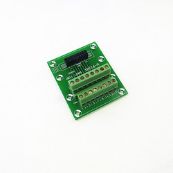 IDC16 2x8 Pins 2.54mm Female Header Breakout Board, Terminal Block, Connector.
