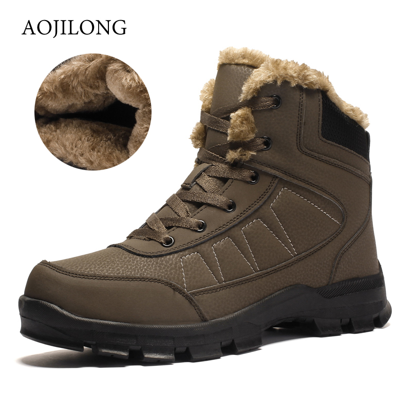 New Genuine Leather Men Hiking Shoes Winter Outdoor Walking Jogging Shoes Mountain Sport Boots Climbing Sneakers Big Size 47New Genuine Leather Men Hiking Shoes Winter Outdoor Walking Jogging Shoes Mountain Sport Boots Climbing Sneakers Big Size 47