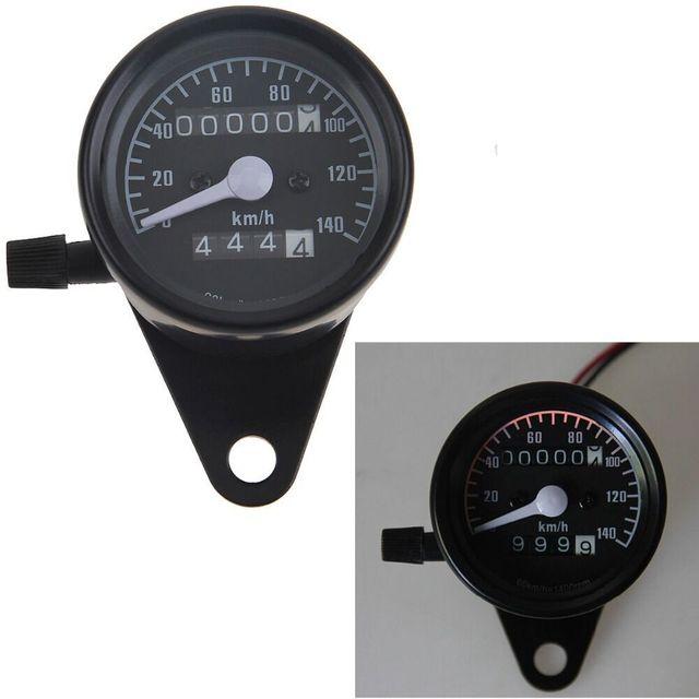 Retro reequipamento Universal Dupla Odômetro medidor CG125 Para motocicleta