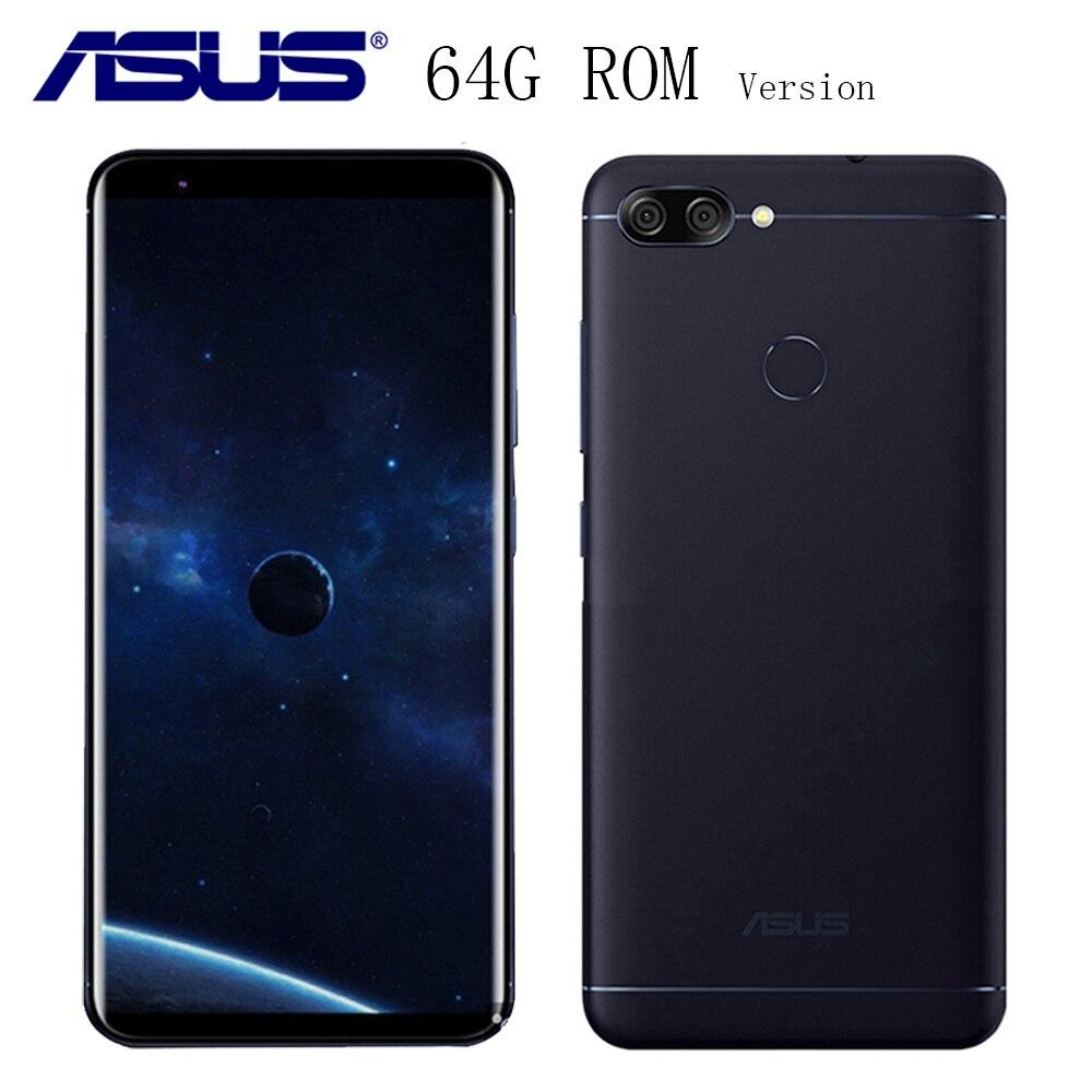 Asus ZenFone Max плюс M1 X018DC, 6 4G B Встроенная память 4G B Оперативная память, 4G смартфонов, Peg asus 4S ZB570TL, Android 7,0, 5,7 дюймов HD 18:9 полный Экран