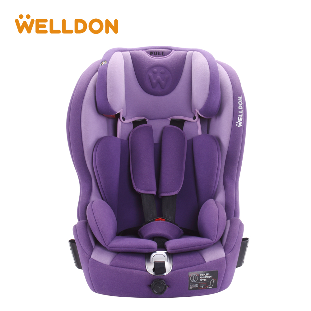 Welldon 9M-12Y Baby Car Seat Child Safety Auto Chair Kids Protection Seat Baby Kids Car Safety Seats Chair four colors infant basket style safety car seat baby car seat portable child automotive safety seats kids outdoor handle cradle