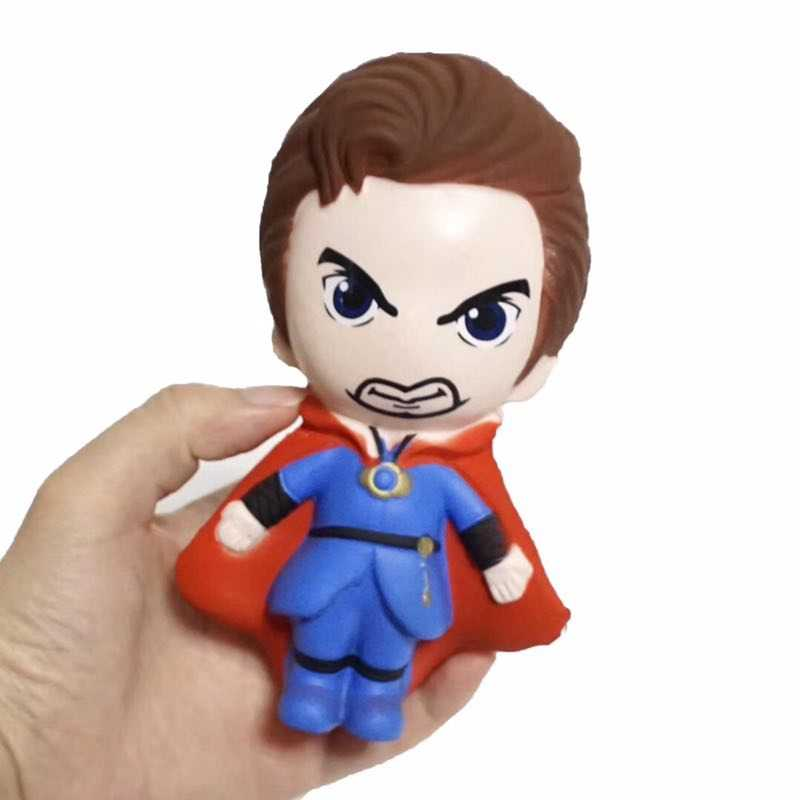 Marvel Мстители эндмейд мягкими медленно поднимающимися Дэдпул мягкими каваи игрушки Джамбо сжимаются снятие стресса Антистресс приседания игрушки