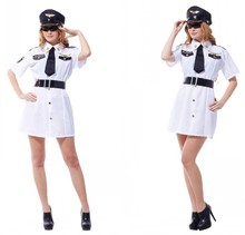 The masquerade costumes police women role playing Cop Costume